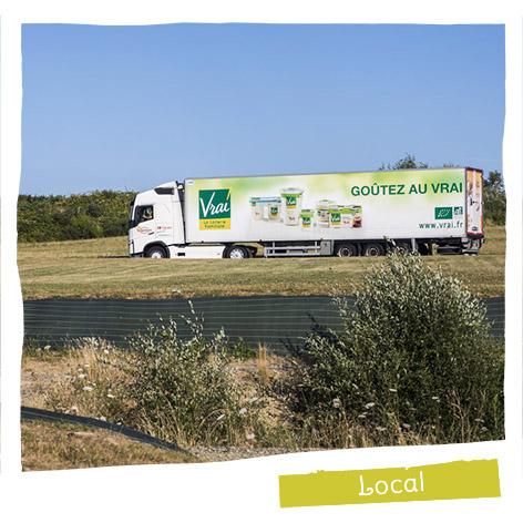 98% du lait est collecté auprès de producteurs français.